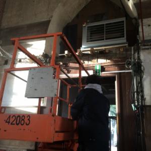 VerwarmingCondensatie warmeluchtblazer